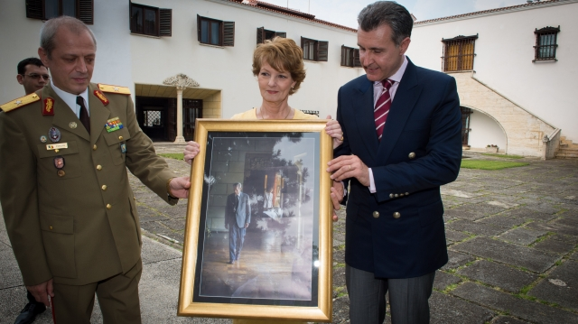 Alteţele sale Regale Principesa Margareta şi Princepele Radu