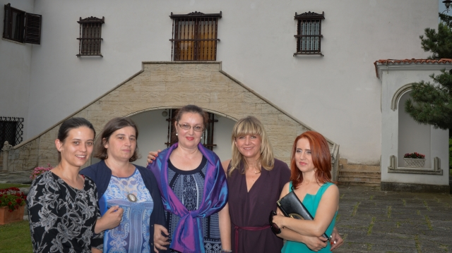 Echipa TVR la Palatul Elisabeta