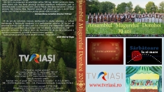 """Aniversarea Orchestrei """"Mugurelul"""" marcată cu un nou DVD din colecţia TVR Iaşi"""