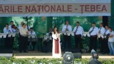 Serbările Naţionale Ţebea 2014, în direct la TVR