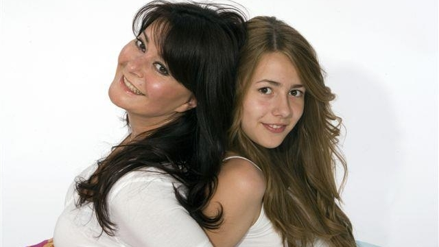 Dana şi fiica sa