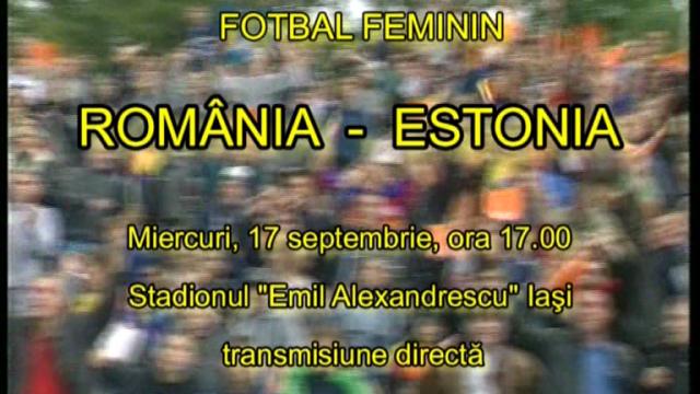Fotbal Feminin - 17 sept