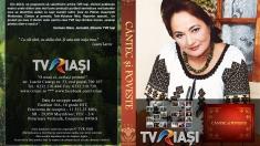 """Lansare de DVD marca TVR Iaşi la Festivalul """"Trandafir de la Moldova"""""""
