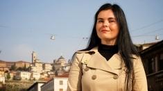 """O româncă la Bergamo, miercuri la """"Lumea şi noi"""""""