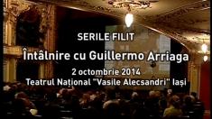 """Guillermo Arriaga, """"Cap de afiș"""" la TVR Iași"""