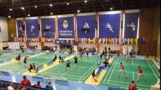 Banatul între fotbal și badminton la