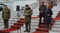 Răzvan Cojocariu decorat de Brigada 15 Mecanizată
