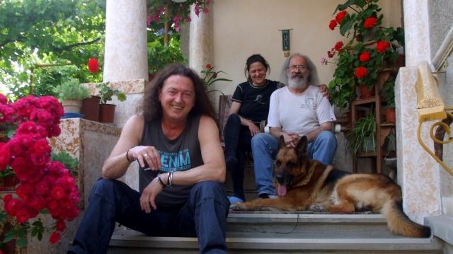 Dietrich Krauser cu Stepan Project în vacanţă