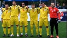 România este pentru a cincea oară campioană europeană la fotbal! La minifotbal...
