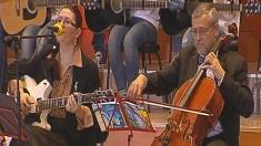 Concert de muzică folk și rock la
