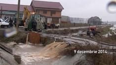 Problema inundațiilor în localitățile din Oltenia