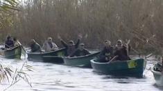 Pescarii hoinari, în mijlocul frumuseţii sălbatice din Delta Dunării