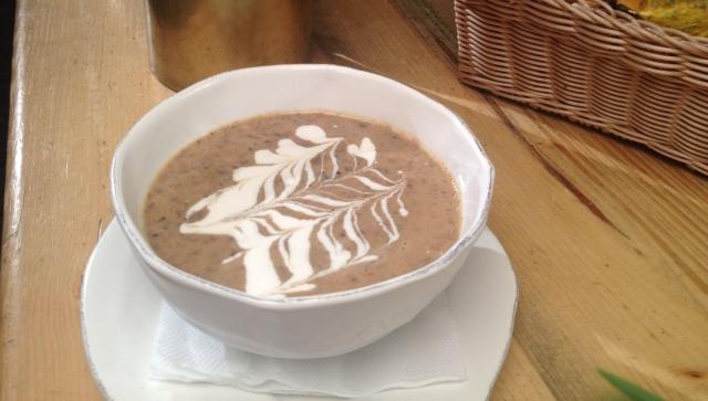 cappuccino de hribi
