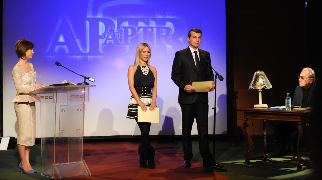 Cristina Şoloc la premiile APTR 2014