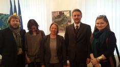 TVR Iaşi în vizită la Ambasada României la Chişinău