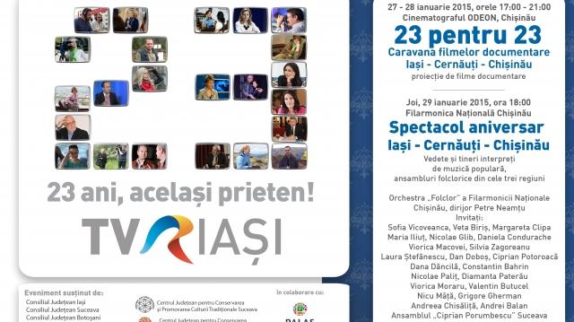 Afis TVR Iasi 23 - Chisinau