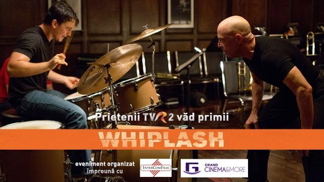 Prietenii TVR2 vad primii Whiplash