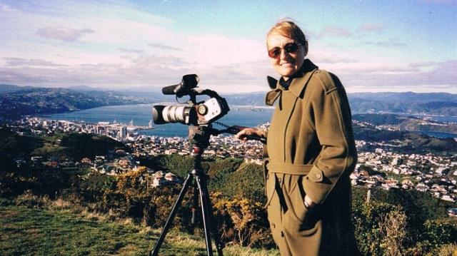 Erika Jozsa în Wellington, Noua Zeelandă