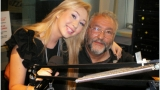 Ben Todică cu Loredana Sachelaru în studio