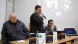 Ben Todică lansare de carte pe Skype