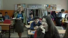Știrile TVR Timișoara: Simulare la evaluarea naţională