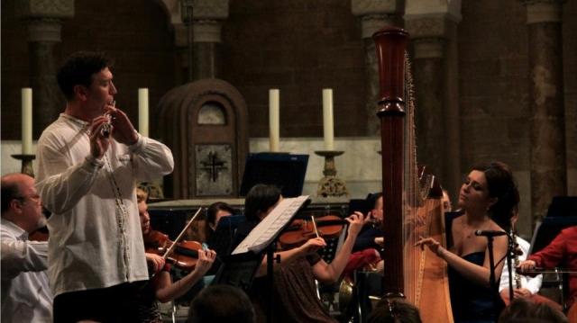 Alin Tătaru, flautist în Beirut