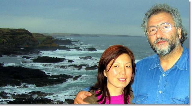 Ben Todică şi soţia sa Ming