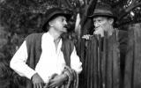 Dorel Vişan şi Victor Rebengiuc în Moromeţii
