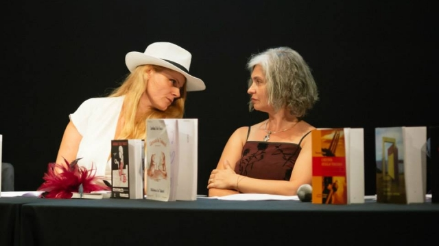 Loredana Tudor Tomescu şi Mihaela Cristescu