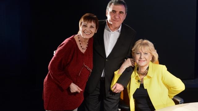 Liana Sandulescu, Gheorghe Hagi, Eurgenia Voda