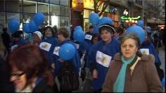 Albastru pentru autism la Timișoara