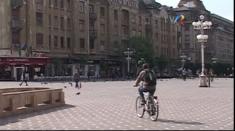 Începând cu 1 mai, bicicliştii nu mai au voie în centrul Timișoarei