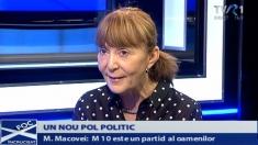 """Despre noul pol politic al Monicăi Macovei, la """"Foc încrucişat"""""""