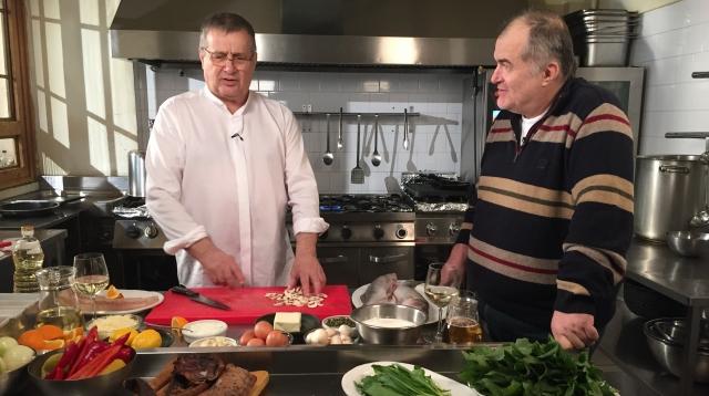 Mircea Dinescu si Florin Calinescu