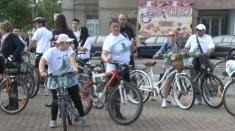 Doamne cochete, pe biciclete. La Lugoj