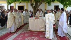 Sfinţirea primei Biserici Ortodoxe Române din Negotin-Serbia