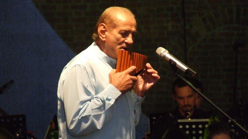 Gheorghe Zamfir, show original despre