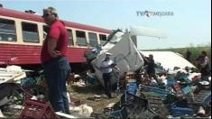 Accident feroviar în județul Timiș