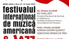 Muzică americană şi jazz la Arad