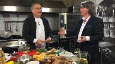 Mircea Dinescu, oaspete în propria-i bucătărie