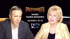 Profesioniştii: Cosmin Alexandru, invitatul Eugeniei Vodă la TVR 1