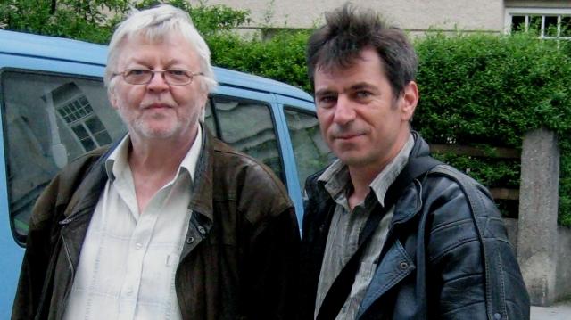 Dan Andrei Aldea la Munchen cu Doru Ionescu