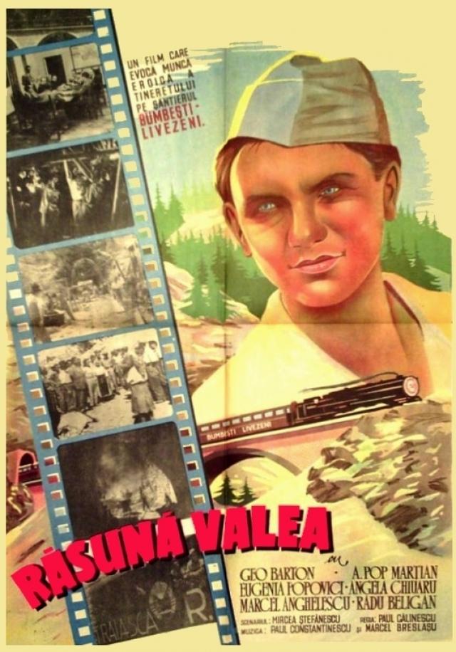 Afişul filmului Răsuna Valea