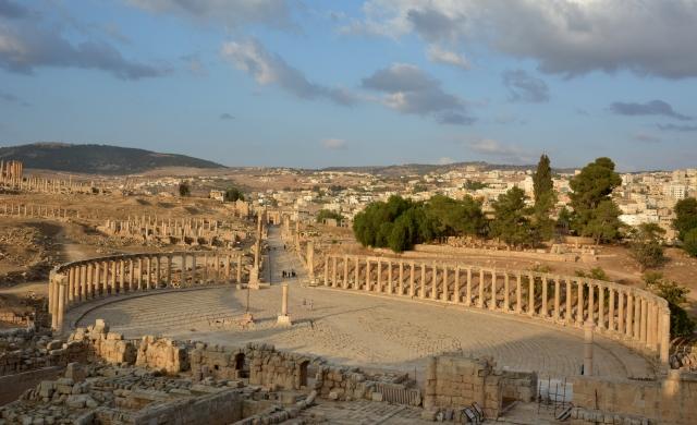 Cetatea Gerasa. Teleenciclopedia 11 iulie 2015