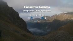 Peregrini în Ţara Făgăraşului, la Exclusiv în România