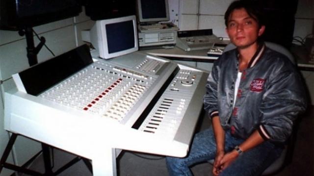 Doru Căplescu la mixer