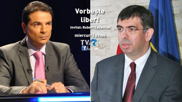 Vorbeste liber_invitat Robert Cazanciuc