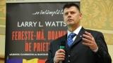 """Istoricul Larry Watts, invitatul emisiunii """"Picătura de cultură"""""""