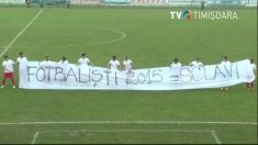 Fotbaliștii de la Metalul Reșița au ieșit de pe teren la Satu Mare