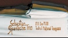 Sebastian Spanache Trio va susţine un concert extraordinar